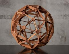 WOOD GEODESIC SCULPTURE - 1018637