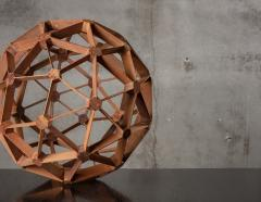 WOOD GEODESIC SCULPTURE - 1018638