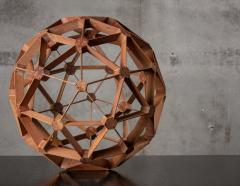 WOOD GEODESIC SCULPTURE - 1018640