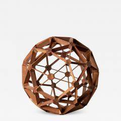 WOOD GEODESIC SCULPTURE - 1019377
