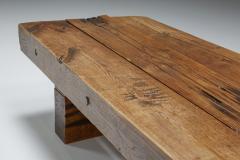 Wabi Sabi Wooden Coffee Table 1960s - 2133153