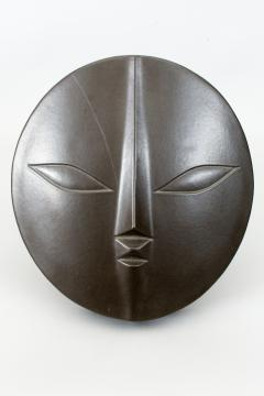 Wall Hanging Ceramic Sculpture of a Mask - 1368651