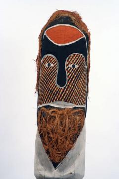 Wally Kerinauia Blanket Lizard Kurruporani Pole Australian Aboriignal Tribal Art - 91551