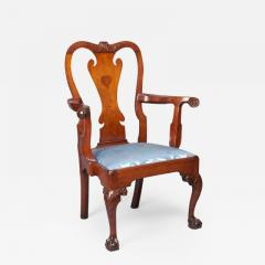Walnut Chippendale Arm Chair - 1400982