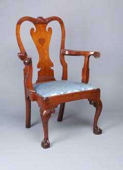 Walnut Chippendale Arm Chair - 1400983