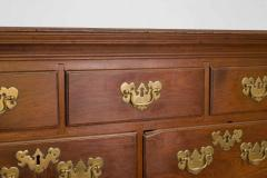 Walnut Chippendale Semi High Chest of Drawers - 90907