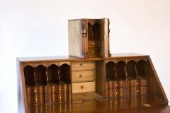 Walnut Chippendale Slant Front Desk - 90941