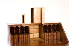 Walnut Chippendale Slant Front Desk - 90943