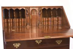 Walnut Chippendale Slant Front Desk - 90944