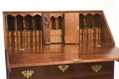 Walnut Chippendale Slant Front Desk - 90945