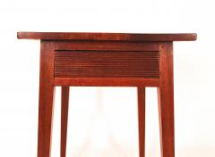 Walnut Hepplewhite One Drawer Stand - 1041836