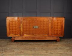 Walnut Parquetry Sideboard by Jules Leleu c1950 - 2106627