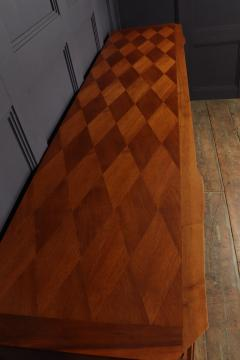 Walnut Parquetry Sideboard by Jules Leleu c1950 - 2106629