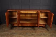Walnut Parquetry Sideboard by Jules Leleu c1950 - 2106633
