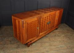 Walnut Parquetry Sideboard by Jules Leleu c1950 - 2106636