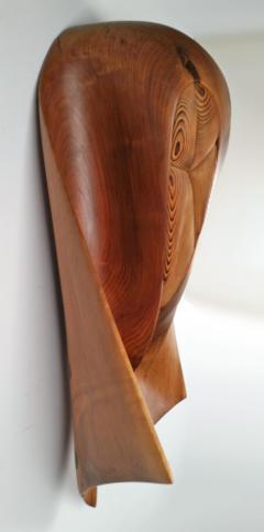 Walnut Wall Sculpture - 1217997