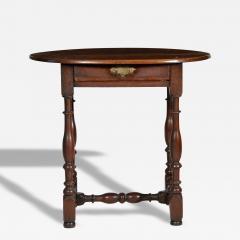 Walnut William Mary Tavern Table - 83341