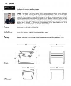 Walt E Disney Cory Grosser 009 Airline Chair for Walt Disney - 1235425