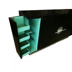 Walter Dorwin Teague Machine Age Art Deco Sideboard by Walter Dorwin Teague - 1143030