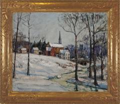 Walter Emerson Baum Winter Near the Creek - 71253