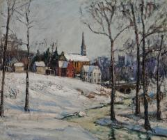 Walter Emerson Baum Winter Near the Creek - 71605