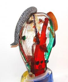 Walter Furlan Homage to Picasso Murano Glass Sculpture - 1113500