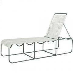 Walter Lamb Rare Pair Walter Lamb Bronze Adjustable Lounge Benches - 181605