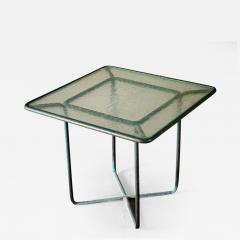 Walter Lamb Walter Lamb Square Bronze Side Table - 429139