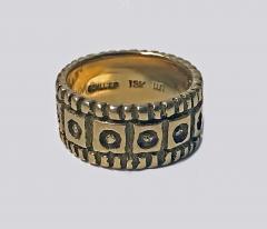 Walter Schluep Walter Schluep 18K abstract Ring C 1960  - 1308416