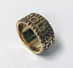 Walter Schluep Walter Schluep 18K abstract Ring C 1960  - 1308419