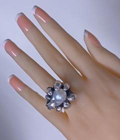 Walter Schluep Walter Schluep Sterling Silver Pearl Ring - 1905811