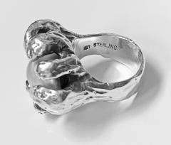 Walter Schluep Walter Schluep Sterling Silver Pearl Ring - 1905815