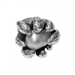 Walter Schluep Walter Schluep Sterling Silver Pearl Ring - 1908067