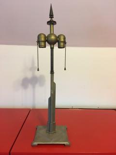 Walter Von Nessen GREAT ART DECO SKYSCRAPER LAMP - 735276