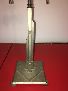 Walter Von Nessen GREAT ART DECO SKYSCRAPER LAMP - 735277