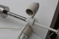 Walter Von Nessen Pair of Von Nessen Polished Chrome Table Lamps - 514065