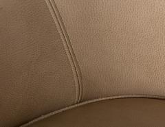 Ward Bennett Pair 1970s Ward Bennett Style Nappa Leather Club Chairs - 1892547
