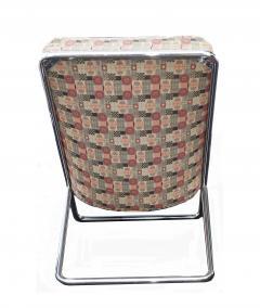 Ward Bennett Pair of Ward Bennett Scissor Pillow Low Profile Highback Chairs - 1755118