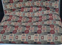 Ward Bennett Pair of Ward Bennett Scissor Pillow Low Profile Highback Chairs - 1755159