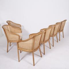 Ward Bennett Six Ward Bennet arm chairs for Brickel Assoc Design 1960S - 1691895