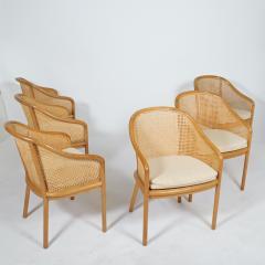 Ward Bennett Six Ward Bennet arm chairs for Brickel Assoc Design 1960S - 1691896
