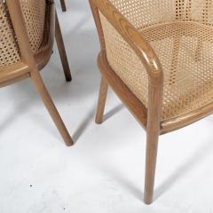 Ward Bennett Six Ward Bennet arm chairs for Brickel Assoc Design 1960S - 1691897