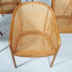 Ward Bennett Six Ward Bennet arm chairs for Brickel Assoc Design 1960S - 1691898