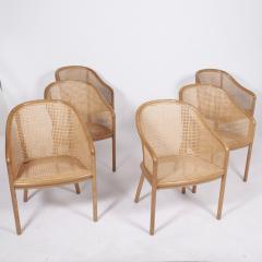 Ward Bennett Six Ward Bennet arm chairs for Brickel Assoc Design 1960S - 1691899