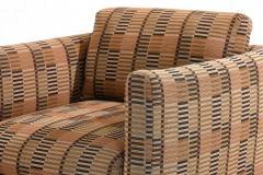 Ward Bennett Ward Bennett Lounge Chairs Bauhaus Fabric 1970 - 1792248