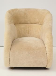 Ward Bennett Ward Bennett Sheepskin Club Chairs - 1136890