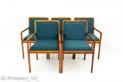 Ward Bennett for Brickel Associates Mid Century Armchairs Set of 5 - 1872501
