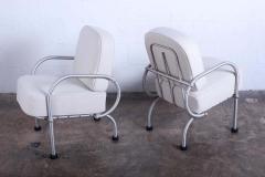 Warren McArthur Pair of Petite Lounge Chairs by Warren McArthur - 1537194
