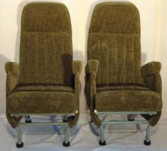 Warren McArthur Pair of Warren McArthur Corporation Aircraft Passenger Seats circa 1946 - 569363