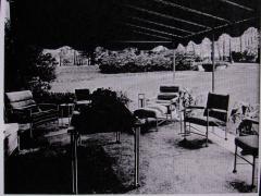 Warren McArthur Pair of Warren McArthur Stainless Steel Light Lounge Lounge Chair1934 35 - 780821